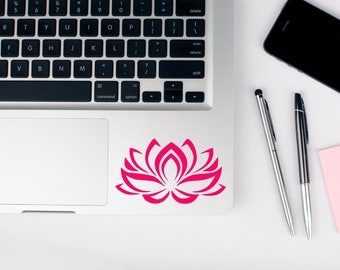 Lotus Flower Decal - Lotus Sticker - Vinyl Car Decal - Yoga Sticker - Laptop Sticker
