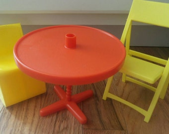 Barbie Doll Furniture ~ Patio Cookout with Barbie!