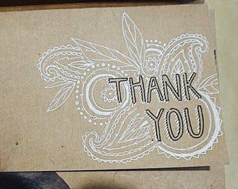 Thank You Stationery Set