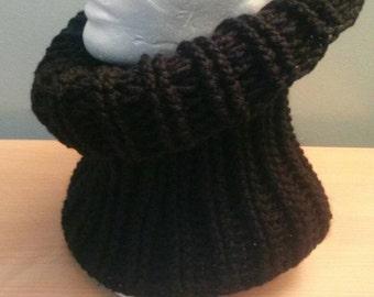 Black Hooded Cowl