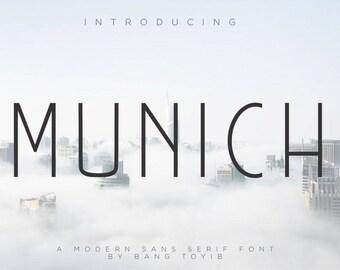MUNICH - Beautiful Sans Serif