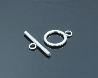 Stainless Steel Ring Toggle and TBar Clasp