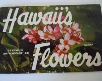 Hawaii's Flowers Postcards