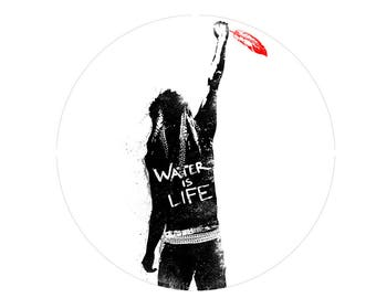 I Stand With Standing Rock Button, Protest Dakota Access Pipeline, NO DAPL, Water Is Life, Support Water Protectors Button,