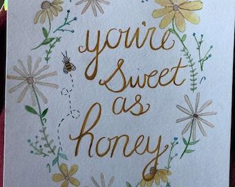 Sweet as Honey Painting