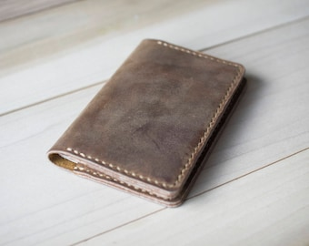Rustic Leather Passport Cover, Custom Passport Case, Holder, Sleeve, Personalized Gift