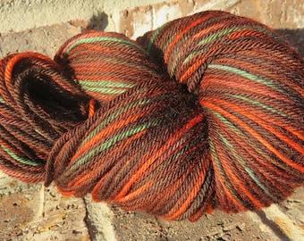 Hand-dyed 100% Superwash Merino Wool - Autumn Walk