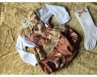 Autumn days romper set