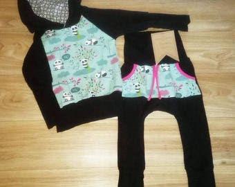 Scalable set 1 - 3T girl panda
