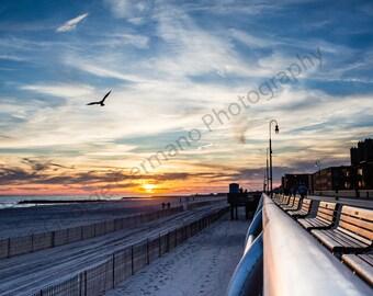 Sunset, Long Beach NY