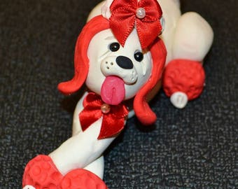 OOAK Poodle made to order, you choose colors