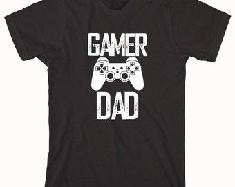 Gamer Dad Shirt - daddy, birthday, Christmas gift idea, new father, gamer dad - ID: 711
