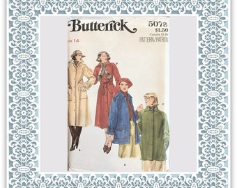 Butterick 5078 Misses' coat and jacket - Vintage Uncut Sewing Pattern