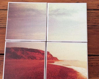 Landscape Coasters- Set of 4 Ceramic Coasters