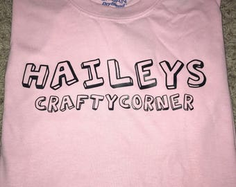 haileyscraftycorner original t-shirt