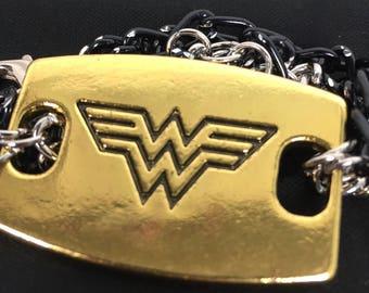 Wonder Woman Multi Chain Bracelet