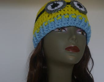 A lil bit of geekery Minion Inspired Hat