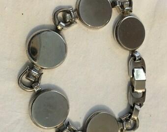 Vintage Stainless Sperry Bracelet