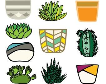 Succulent SVG Cut Files