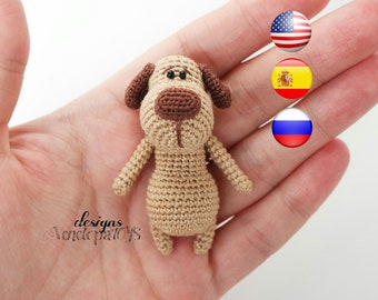 Pattern Dog TOTO, amigurumi crochet dog, crochet dog pattern, amigurumi PDF pattern, dog pattern, Instant download