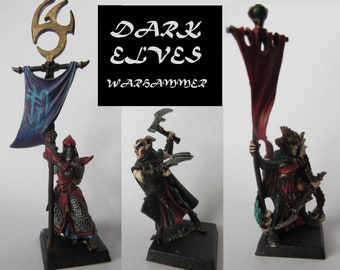 3 Beautifully Painted 28mm Miniature Figures for Gaming or Display