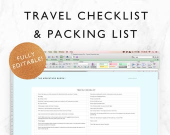 camping list excel