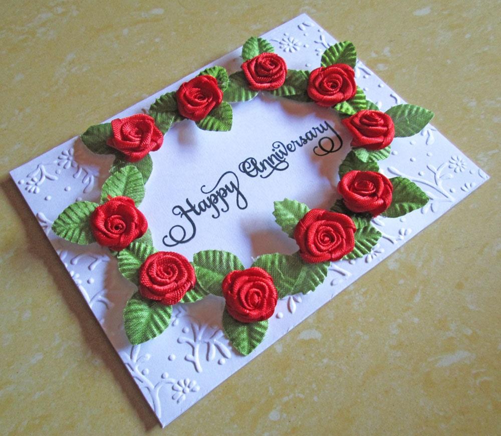 Wedding Anniversary Card / Silver Wedding Anniversary Card/