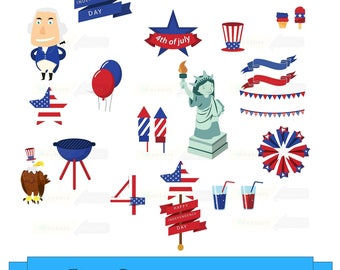 4th of july clipart fourth of july clip art patriot png rh etsystudio com july 4 clipart black and white july 4 clipart black and white
