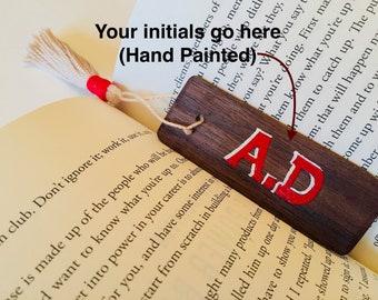 Customizable Bookmark, HAND PAINTED