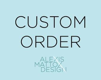 Custom Listing for Josie