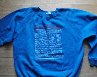 Vintage Colonial Williamsburg Sweatshirt