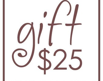 25.00 Gift Certificate for Pursesonals of Pittsburgh