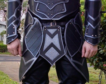 Leather Armor Deluxe Nightingale Set