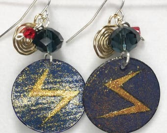 Ms Marvel (Kamala Khan) Earrings