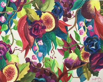 Figs and Flowers