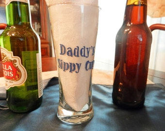 "Beer Glass ""Daddy's Sippy Cup"""