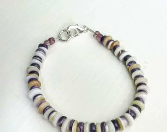 7inch Wampum Bracelet mix small beads*promo photo