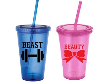 His and Her Tumbler Set