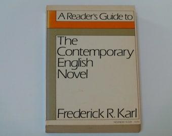 A Reader's Guide to The Contemporary English Novel - Frederick R. Karl - Farrar, Straus Giroux 1972 - Literary Criticism - Softcover Book