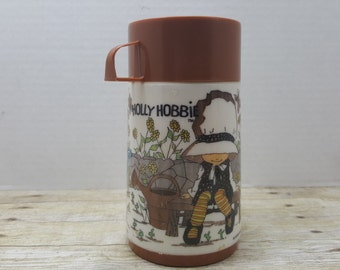 Holly Hobbie Thermos, American Greeting Corporation, 1970s, lunchbox