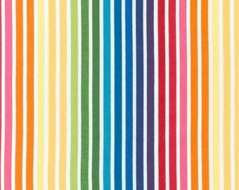 Rainbow Remix Stripes From Robert Kaufman's Remix Collection by Ann Kelle