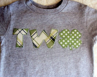 Boys St Patricks Day Shirt- Boys St. Patrick's Day Birthday Shirt -Toddler St. Patrick Day Shirt- Shamrock Birthday Shirt-St. Patricks Day