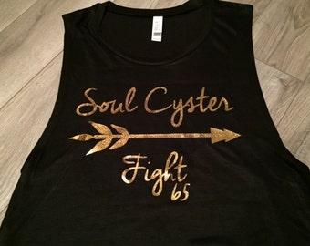 Soul Cyster Fight 65 Women's Flowy Muscle Tank