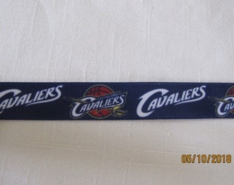 "Cleveland Cavaliers 7/8"" Grosgrain Ribbon by the Yard"