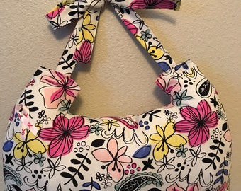 Mastectomy pillow- flower print- hand wash only