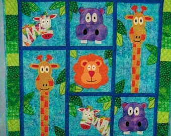 Blake's Jungle - quilt pattern