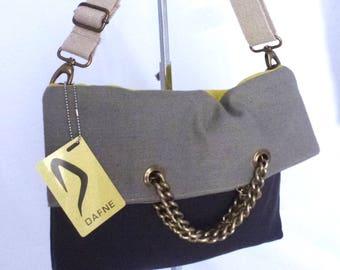 TRIS canvas shoulder bag