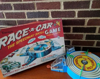 Vintage Transy's Race-a-Car Game - 1961