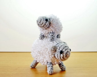 Mother and Baby Spring Sheep, Perfect Gift!