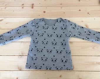Panda hand sewn baby jacket